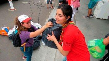 La fiesta de la solidaridad se vive a pleno en el Puerto Nuevo