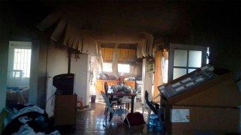 Una menor se intoxicó con monóxido de carbono por un incendio en su casa