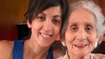 La nieta recuperada Nº 126 conoció a su abuela entrerriana que tiene 86 años
