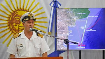 Nuevo parte de la Armada: