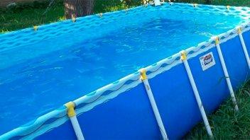Una niña de tres años se ahogó en una pelopincho