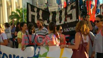 Se realizó marcha en defensa de los derechos humanos