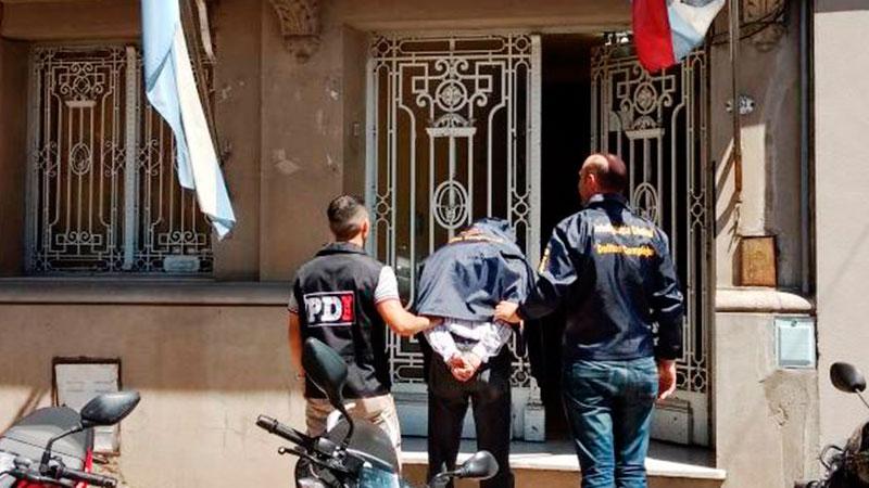 El gendarme había sido detenido el mes pasado en Rosario