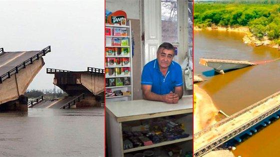 El recuerdo de la familia de Paraná que casi muere en el puente Esquina-Goya