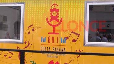 Inauguraron los estudios de la radio municipal Costa Paraná FM 88.1