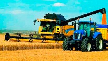Tractores impulsaron una suba en la venta de maquinaria agrícola