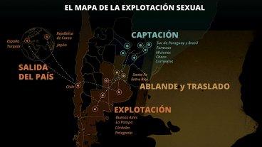 Revelan el entramado de la trata de mujeres: Qué rol le otorgan a Entre Ríos