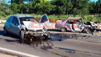 Violento choque en Acceso Norte: Por qué ocurrió y quién se cruzó de carril