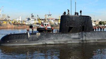 La Armada informó que no hay rastros del San Juan a un mes de su desaparición