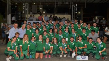 Comenzaron los Juegos Argentinos de Playa en Concepción del Uruguay