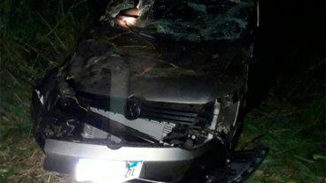 Automóvil despistó y cuatro personas resultaron heridas