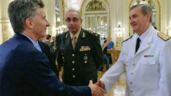 Búsqueda del submarino: Aguad desplazó al jefe de la Armada, Marcelo Srur