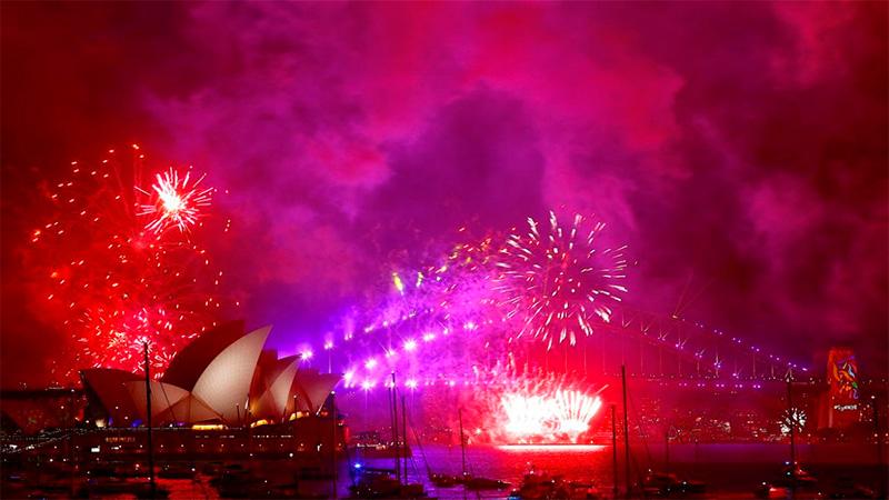 Así recibe el mundo la llegada del 2018 — Año Nuevo