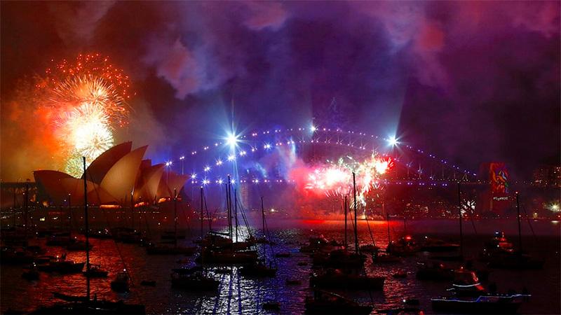 Año Nuevo: Así recibe el mundo la llegada del 2018
