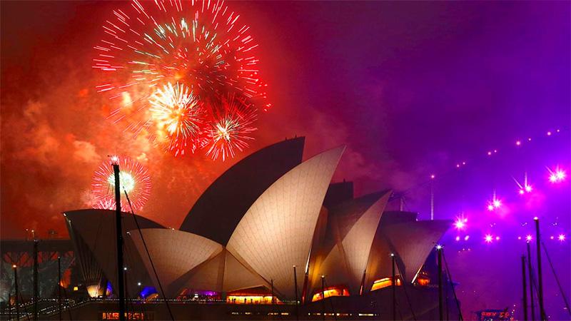 Ya se celebra la llegada del Año Nuevo en el mundo