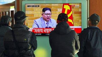 Kim Jong-un advirtió a EEUU que tiene el