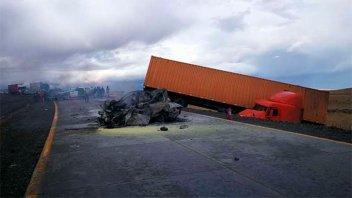 Cinco argentinos murieron calcinados en un accidente en el sur de Chile