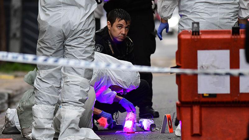 Apareció una bomba casera con panfletos del Partido Obrero — Operación enemigo interno