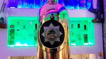 Hallaron la botella de vodka más cara del mundo que fue robada: Estaba vacía