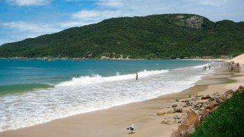 Por desechos cloacales, alertan sobre contaminación en playas de Florianópolis