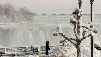 La costa este de EEUU padece una ola de frío polar tras el