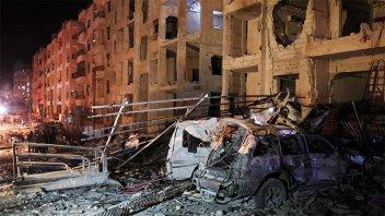Al menos 23 muertos por ataque explosivo en el noroeste de Siria