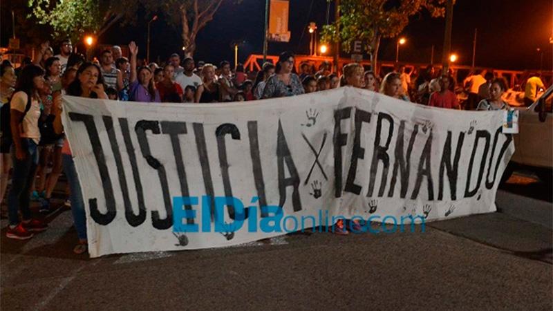 Marcharon otra vez para pedir justicia por Fernando Pastorizzo
