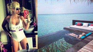 Wanda Nara y Mauro Icardi lucen sus lomazos en sus románticas vacaciones