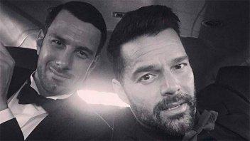 Ricky Martin reveló que se casó en secreto con su prometido