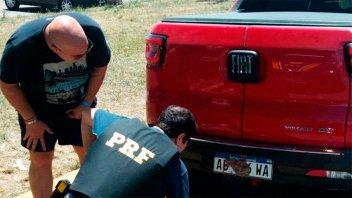Avivada de un turista argentino en ruta de Brasil terminó con una multa