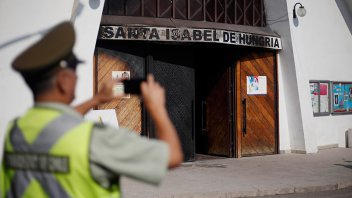 Se registran ataques a iglesias en Chile, antes de la llegada del Papa