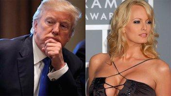 Aseguran que ex actriz porno cobró US$130.000 por callar su relación con Trump