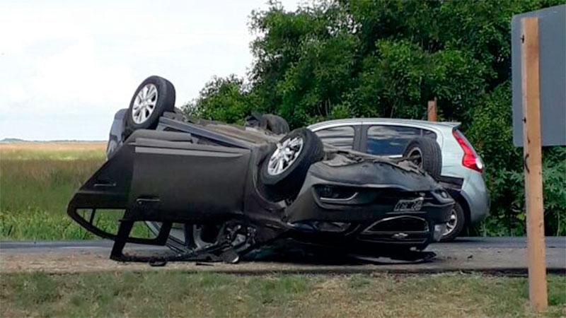 Ninguno de los ocupantes del auto habría sufrido lesiones de gravedad