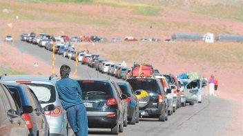 Se incrementó el flujo de argentinos hacia Chile ante la visita del Papa