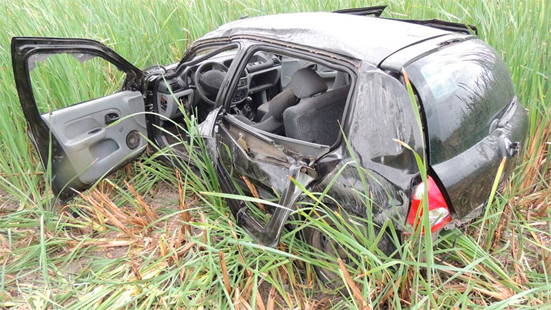 Murió una de las nenas accidentadas en la ruta provincial 6
