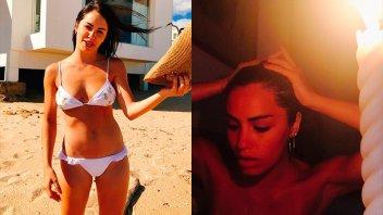 Más seductora que nunca: Lali Espósito desnuda y entre velas en la bañera