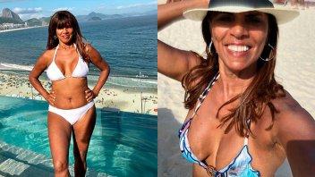 A los 66 años, volvió a mostrarse en bikini y cosechó cientos de piropos