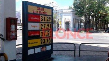 Los nuevos precios de los combustibles de Shell en Paraná