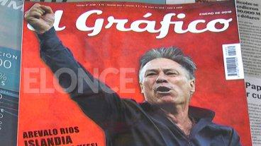 Canillita lamenta el cierre de la revista El Gráfico: