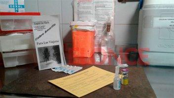 Vacunan 500 personas por semana contra la fiebre amarilla en el San Martín