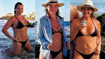Nancy Pazos posó muy sexy y contó detalles de su transformación física