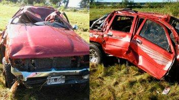 Trágico accidente en Gualeguay: Falleció el conductor de la camioneta