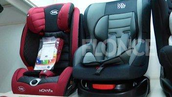 Los precios de las sillas de seguridad que deben usar los niños en los autos