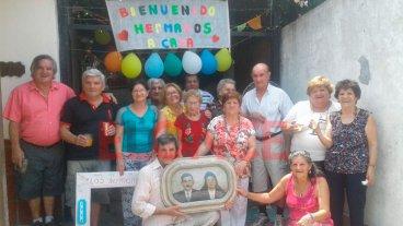 Catorce hermanos se reunieron en Paraná para celebrar la unión