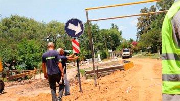 Gualeguaychú: Habilitaron el tránsito en el puente que había cedido