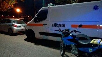 Los interceptaron cuando andaban ebrios y sin seguro a bordo de una ambulancia