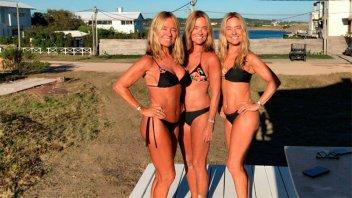 A los 57 años, las Trillizas de Oro sorprendieron con una foto en bikini
