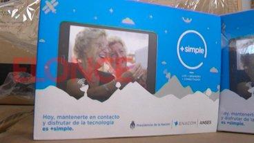 Se conoció el cronograma de la segunda entrega de tablets para adultos mayores