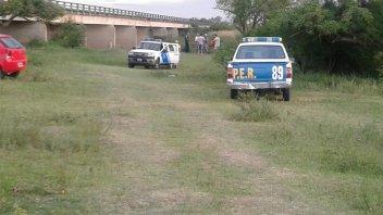 Hallaron sin vida al joven que había desaparecido en el arroyo Nogoyá