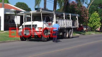 Controlan el tránsito pesado en la zona sur de la ciudad